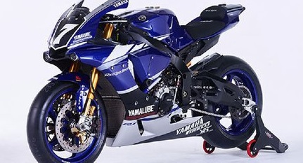 Beauty yart yamaha yzf r1 ewc racing team techno mobile 8 for Yamaha cp4 weight