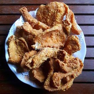 Resepi Kulit Ayam Goreng
