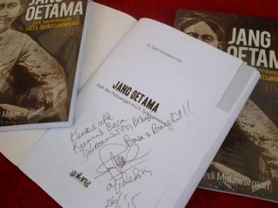 Buku Jang Oetama (Jejak dan Perjuangan H.O.S Tjokroaminoto)