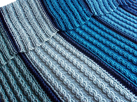 Knitting | Work in Progress: Pattern | Breidan Reversible Afghan