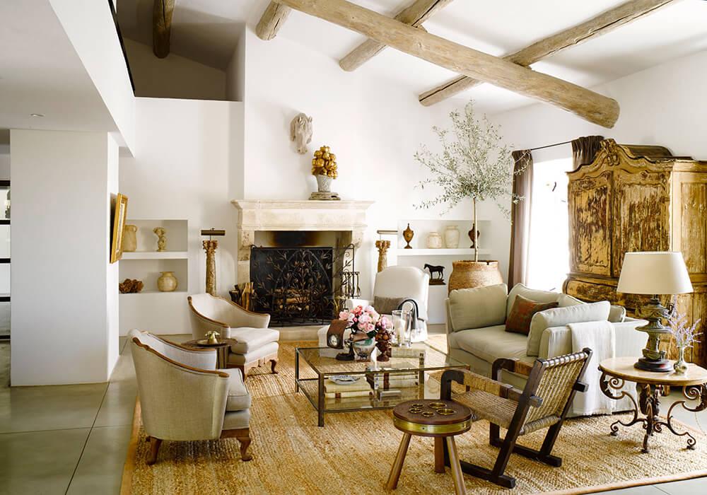 Domaine de la Cavalière by interior designer Ken Fulk