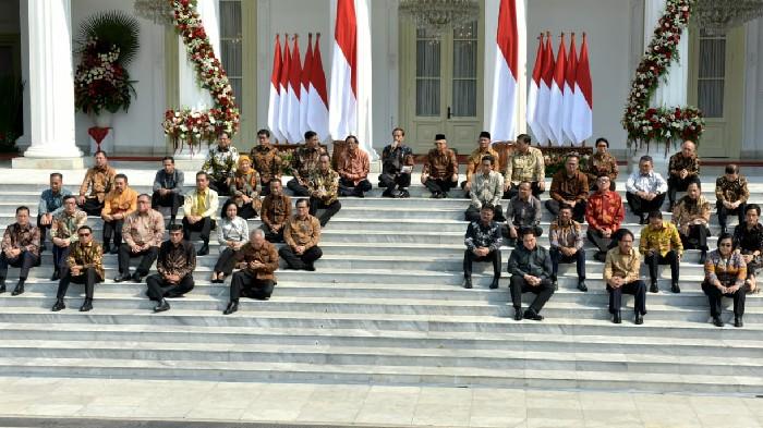 Inilah Nama-Nama YSusunan Kabinet Jokowi