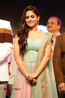 Naina Ganguly Stills in Long Dress at Vangaveeti Audio Launch