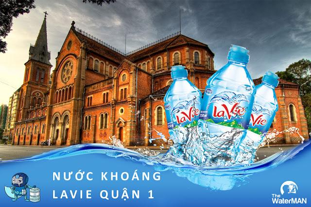 Đại lý đặt nước khoáng Lavie, Viva bình 20L, thùng đóng chai ở Quận 1