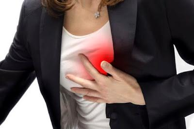 Gejala Serangan Jantung Yang Sering Terjadi Namun Jarang Disadari