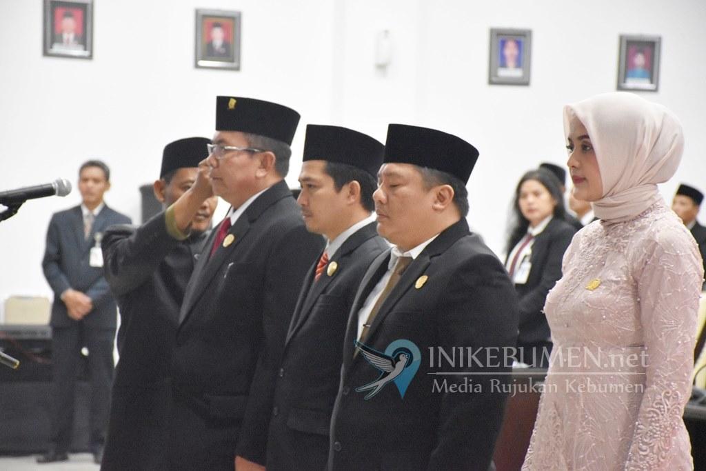 Hadiri Pelantikan Pimpinan DPRD, Bupati Sebut Eksekutif Butuh Kontrol dari Legislatif