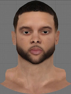 NBA 2K13 Deron Williams Cyberface Patch