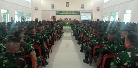 Danrem 022/PT : Pahami Jati Diri Kita (TNI)