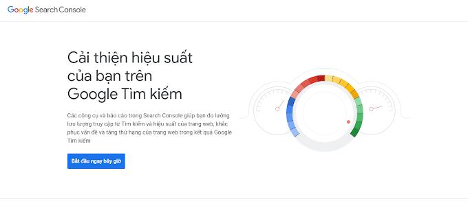 Hướng dẫn thêm trang web vào Google Search Console