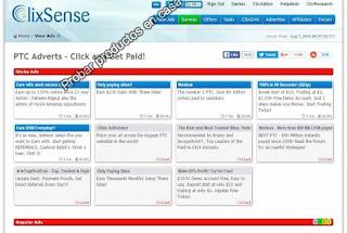 Ganar dinero con Clixsense Clic
