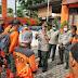 BPBD Kota Medan Lakukan Penyemprotan Desinfektan Pemukiman Warga