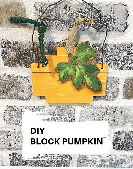 block pumpkin and pin overlay