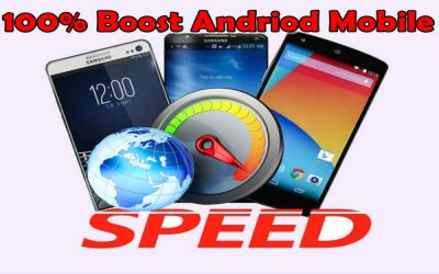 How to boost android smartphone speed features
