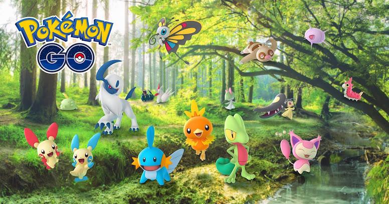 Pokémon GO Celebração Hoenn