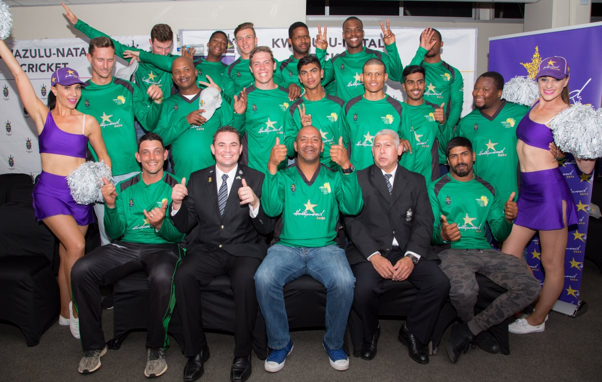 Hollywoodbets KZN Coastal Cricket Team - Africa T20 Cup - Sponsorship Announcement