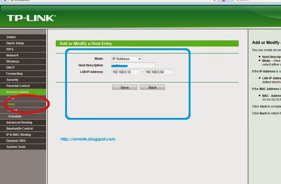 Blokir Situs pada TP-Link TL-MR3420