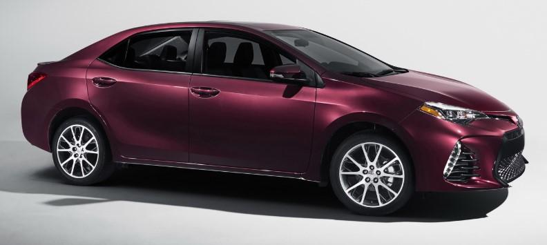2018 Toyota Corolla SE Special Edition 4dr Sedan Specs and Prices