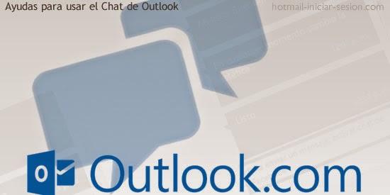 Ayudas para usar el Chat de Outlook