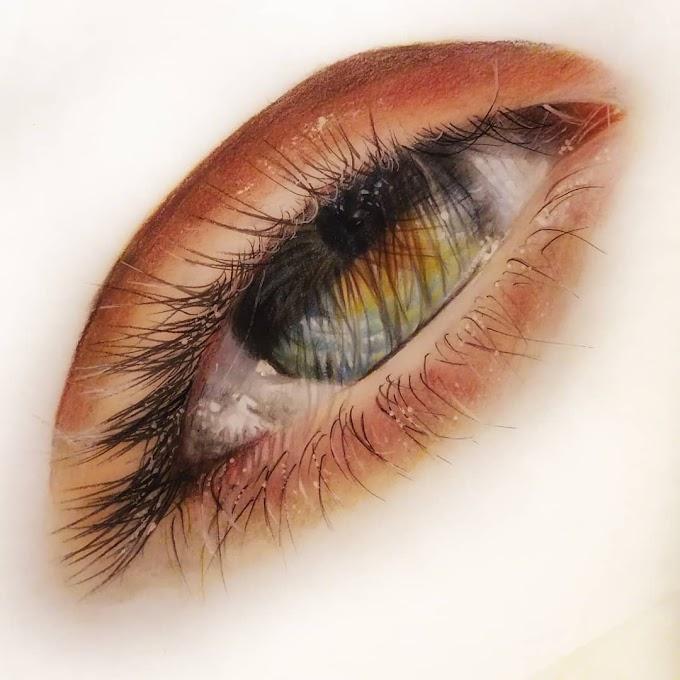 اجمل 13 رسمة للعين ممكن ان تراها للرسامة اليونانية ماريا غوليا