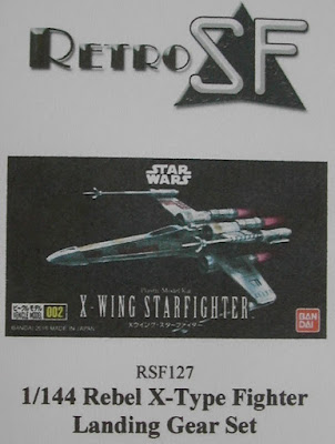 Rebel X-Type Fighter Landing Gear Set picture 1