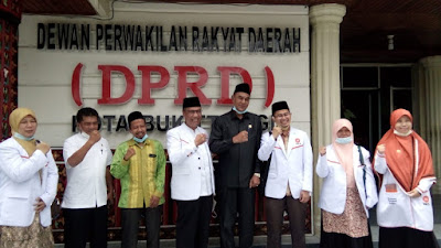 Jalin Keharmonisan Lembaga, PKS Sambangi Ketua DPRD Bukittinggi