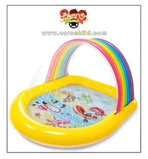 مسبح اطفال صغير بألوان جميلة