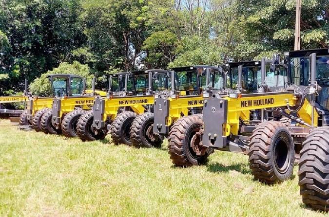 Governo do Mato Grosso do Sul adquire 55 motoniveladoras New Holland Construction