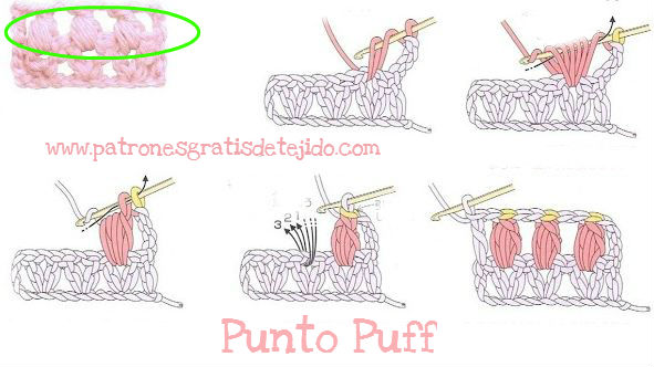 esquema-punto-puff-crochet