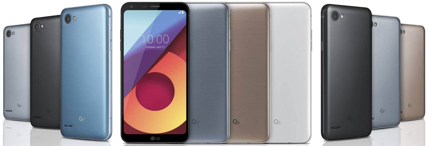 LG Q6 Series Coming to PH; FullVision Display, Octa Core, 4GB RAM, 64GB ROM