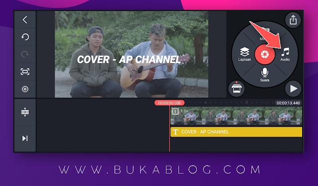 Menambahkan lagu/backsound ke dalam video