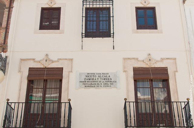 Casa Natal Niceto Alcalá Zamora Priego de Córdoba