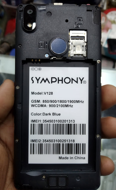symphony v128 flash file hang logo fix without password