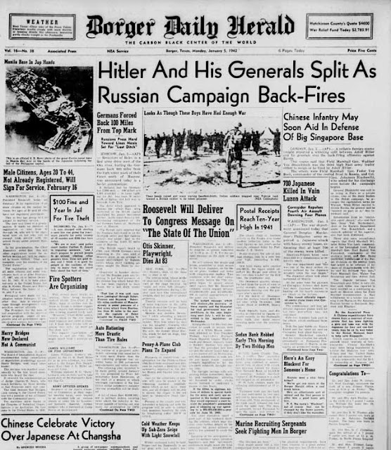 Borger Daily Herald, 5 January 1942 worldwartwo.filminspector.com
