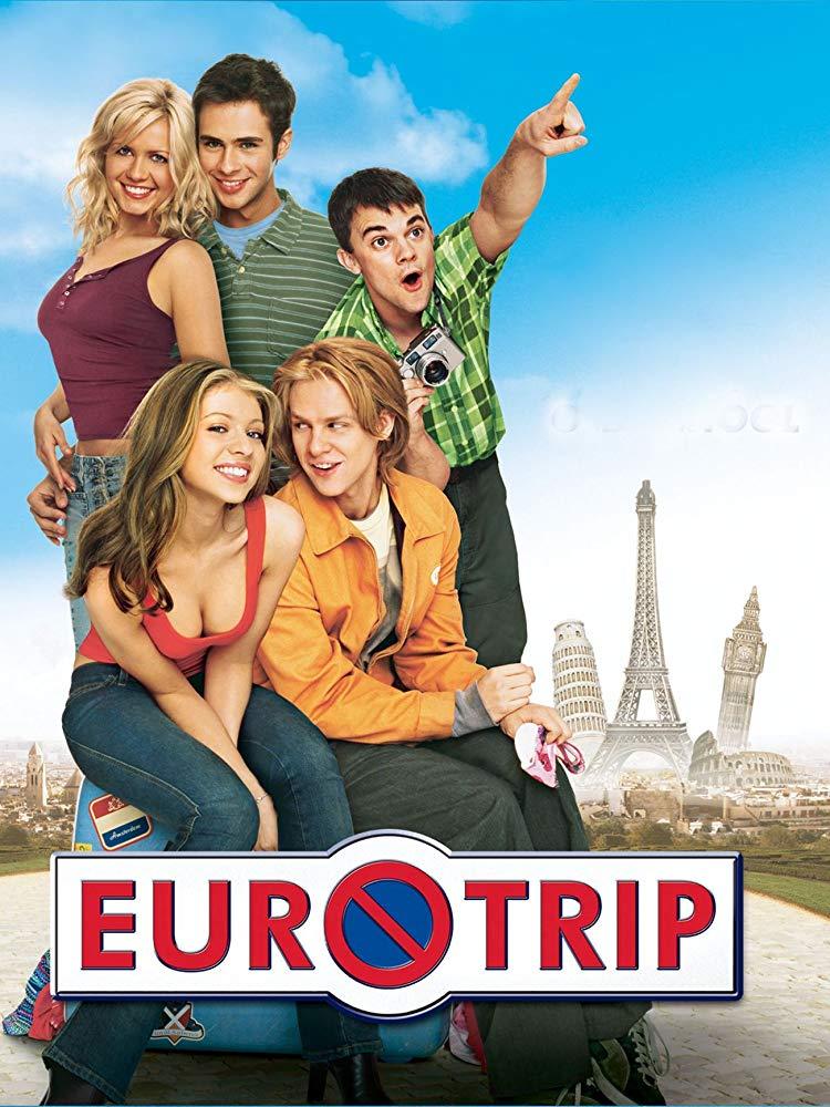 EuroTrip (2004) Dual Audio Hindi 300MB BluRay 480p ESubs