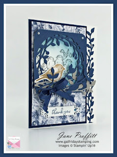 Misty Moonlight, whisper white, night of navy, Birds of Branches and Free as a Bird Stamp sets.