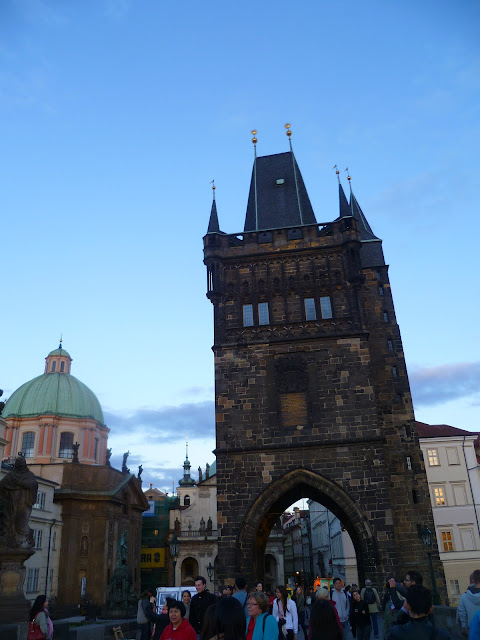 Чехия, Прага - Староместская мостовая башня (Czech Republic, Prague - Old Town Bridge Tower)