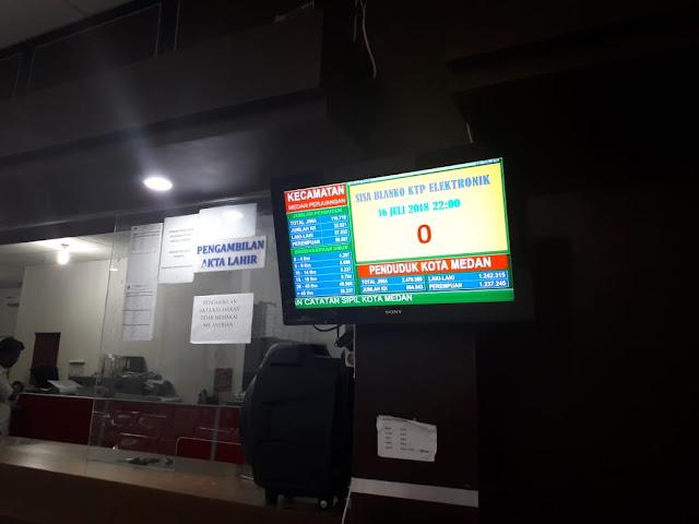 Disdukcapil Medan Klaim Stok Blanko E-KTP Aman