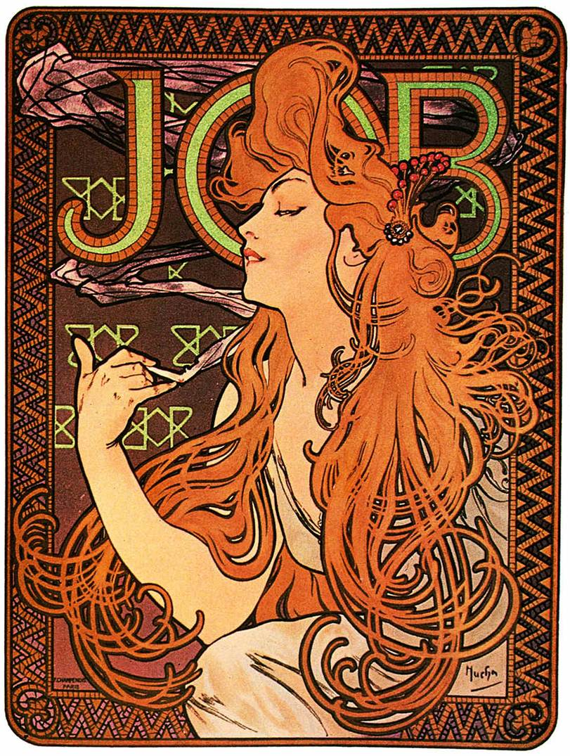 Having A Look At History Of Graphic Design Art Nouveau In