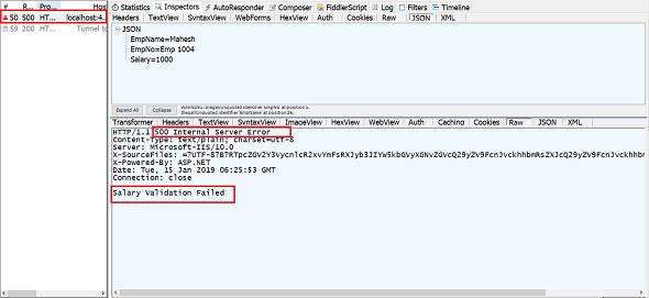 Global Error Handler in ASP NET Core