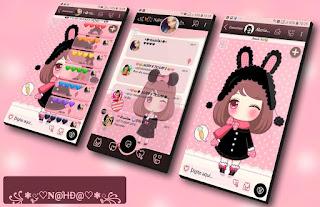 Cute Girls Theme For YOWhatsApp & Fouad WhatsApp By Nanda