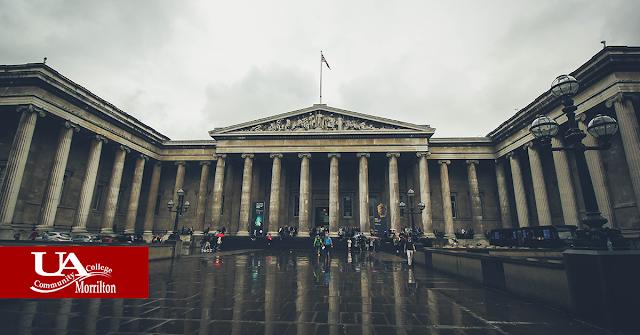 exterior of British Museum