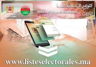 التسجيل باللوائح الانتخابية قبل 31 دجنبر 2020
