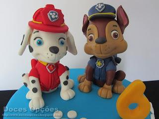 cães patrulha pata pasta açucar