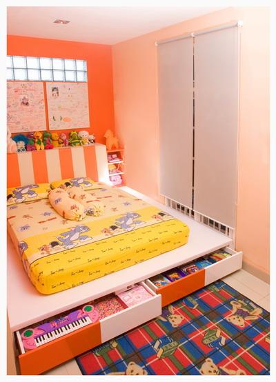 Warna Cat kamar Anak Yang Cocok dan Bagus  Kamar Minimalis