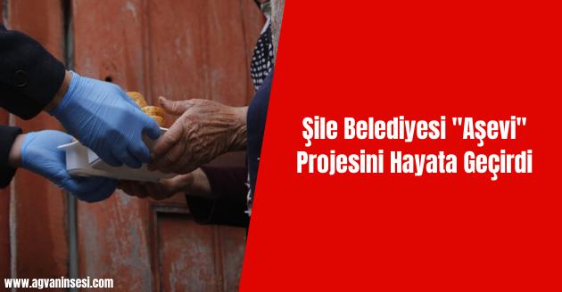 """Şile Belediyesi """"Aşevi"""" Projesini Hayata Geçirdi"""
