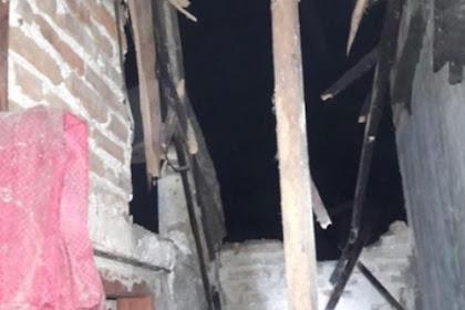 Gudang tua  roboh timpa rumah warga,1 orang tewas dan 5 rumah rusak