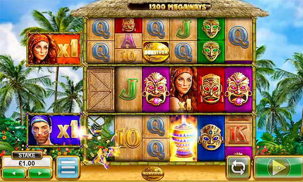 Main Gratis Slot Indonesia - Survivor Megaways (Big Time Gaming)