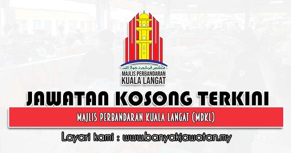 Jawatan Kosong 2021 di Majlis Perbandaran Kuala Langat (MDKL)