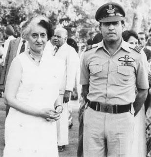 Rakesh Sharma Indira Gandhi GKtree