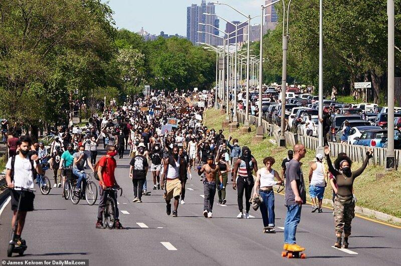 protestas en estados unidos por racismo